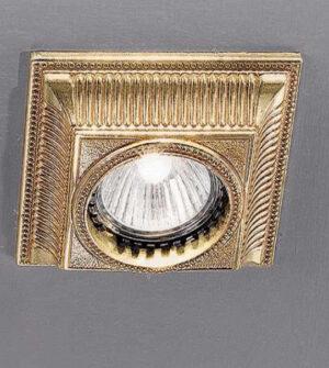 Brass recessed spotlight Art. Z3