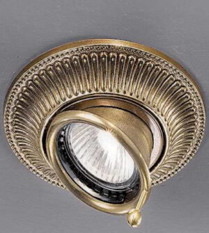 Brass recessed spotlight Art. Z5