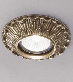 Brass recessed spotlight Art. Z2