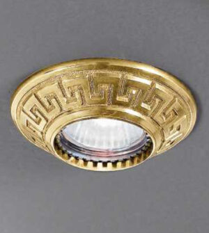 Brass recessed spotlight ART. Z8