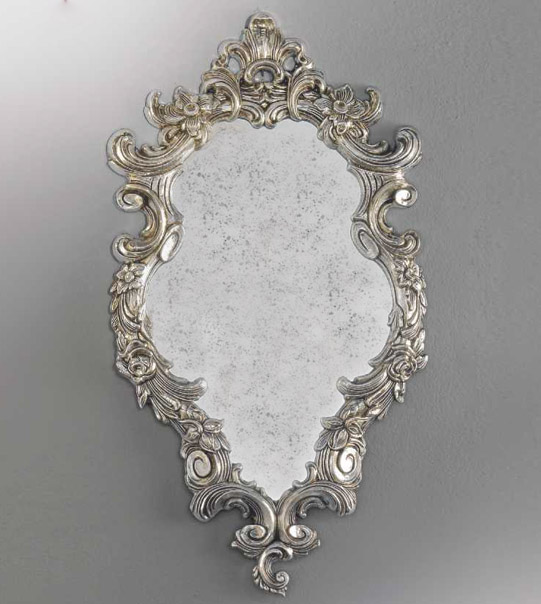 Antique mirror with a carved frame Art. M1