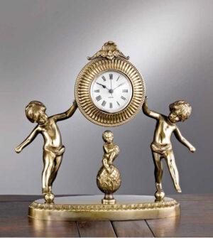 Brass table clock Art. M3