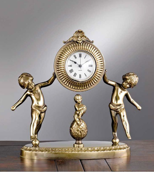 Brass table clock Art. M3
